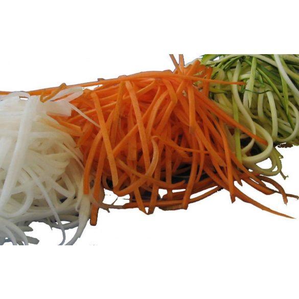 WSM Duplapengés Zöldség-gyümölcshámozó,szeletelő,dekoráló