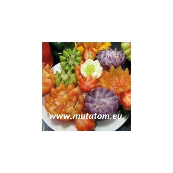 Szíves Duo zöldség-gyümölcshámozó,szeletelő, dekoráló, 5 cm pengével