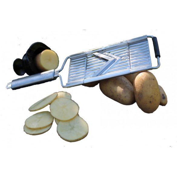 Gigant Multihobel- Kézi szeletelő (7 cm penge , 4 db betét)