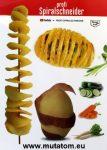 Inox krumpli spirálozó
